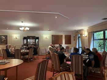 BBGA Golf day guests enjoy afternoon tea