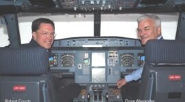 Robert Courts MP at Leading Edge Aviation