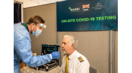 London Biggin Hill Airport's Covid-19 testing centre approved to issue Fit for Travel certificates